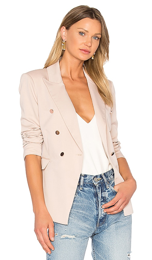 Bardot Tailored Blazer in Beige