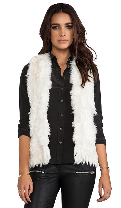 Faux Foxy Vest