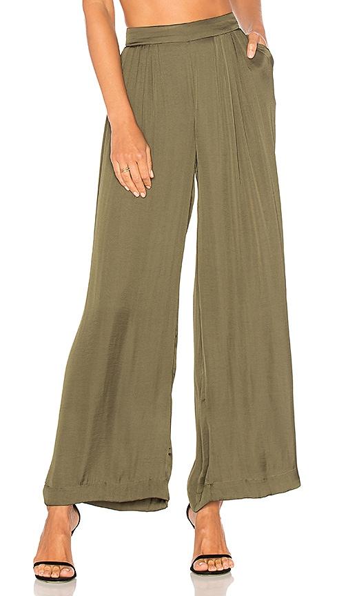 Bardot Bonnie Pant in Olive