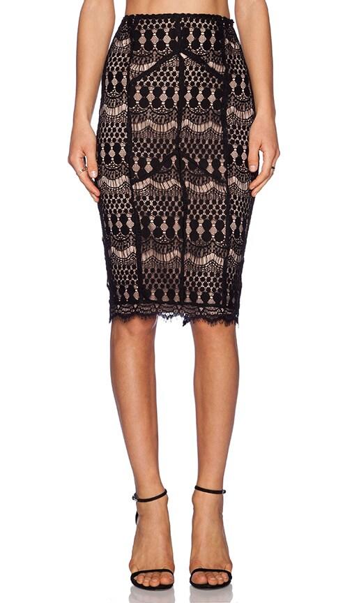 Lace Midi Skirt