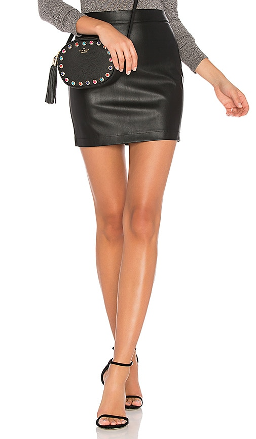 Bardot Mini Skirt in Black