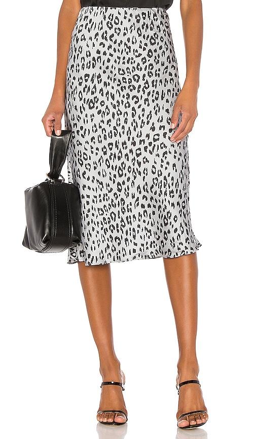 Mayah Leopard Skirt