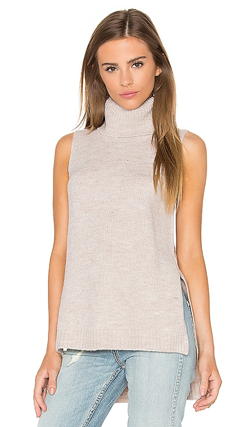 Bardot Harmony Knit Top in Beige