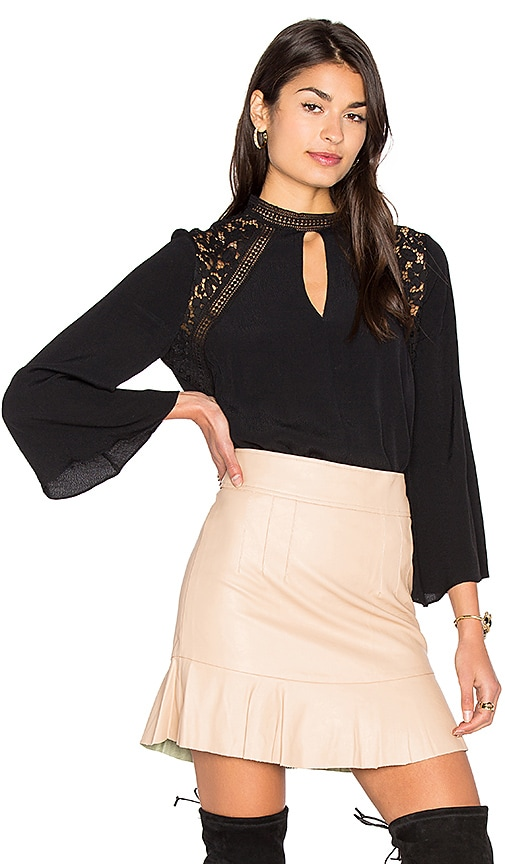 Bardot Phoebe Blouse in Black