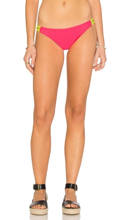 Basta Surf Zunzal Reversible Bikini Bottom in Pink