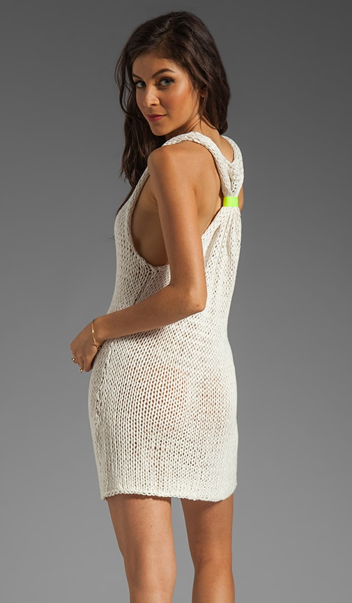 Percy T-Back Dress with Reflector Accents