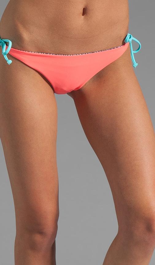Reversible Raglan Classic String Bikini Bottom