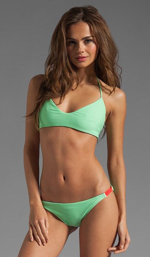 Reversible Zunzal Bungee Accent Bikini Top