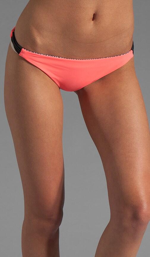 Reversible Zunzal Bungee Accent Bikini Bottom