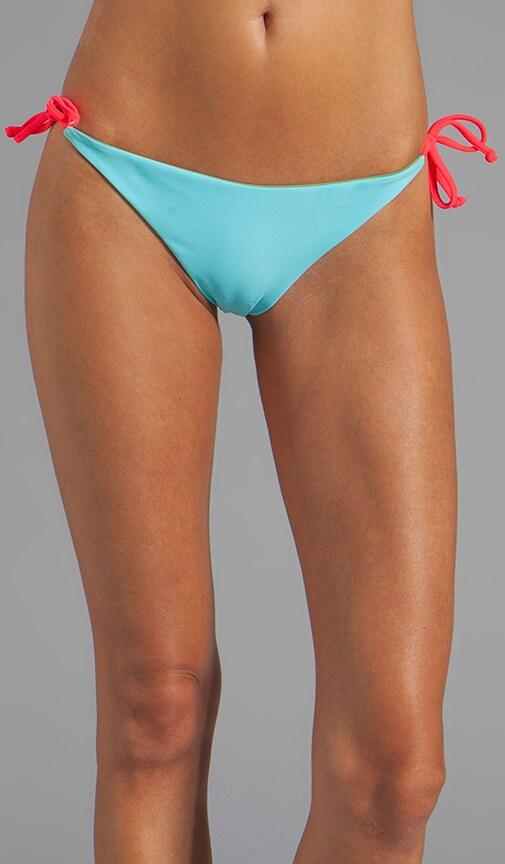 Raglan Reversible String Bikini Bottom