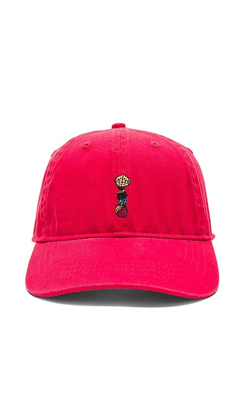 Billionaire Boys Club Thinker Snapback in Red