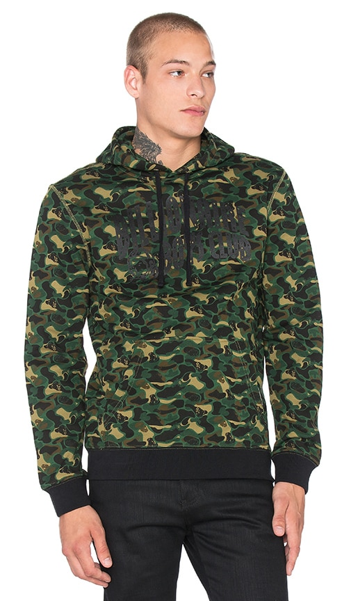 Billionaire Boys Club Camo Pullover in Green