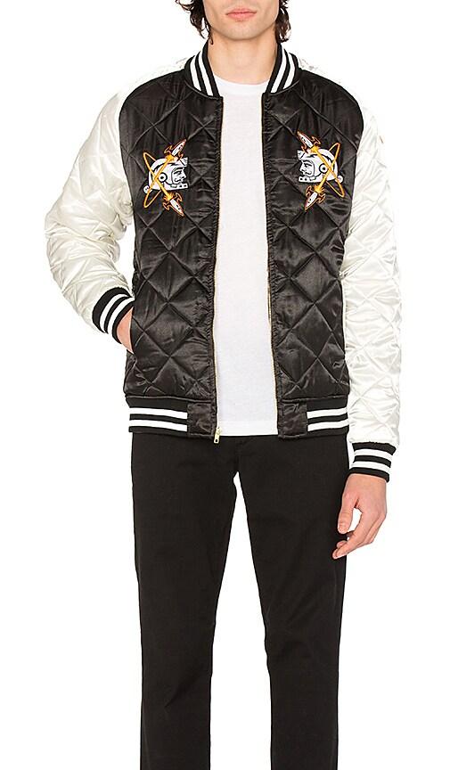 Billionaire Boys Club Vegas Souvenir Jacket in Black & White