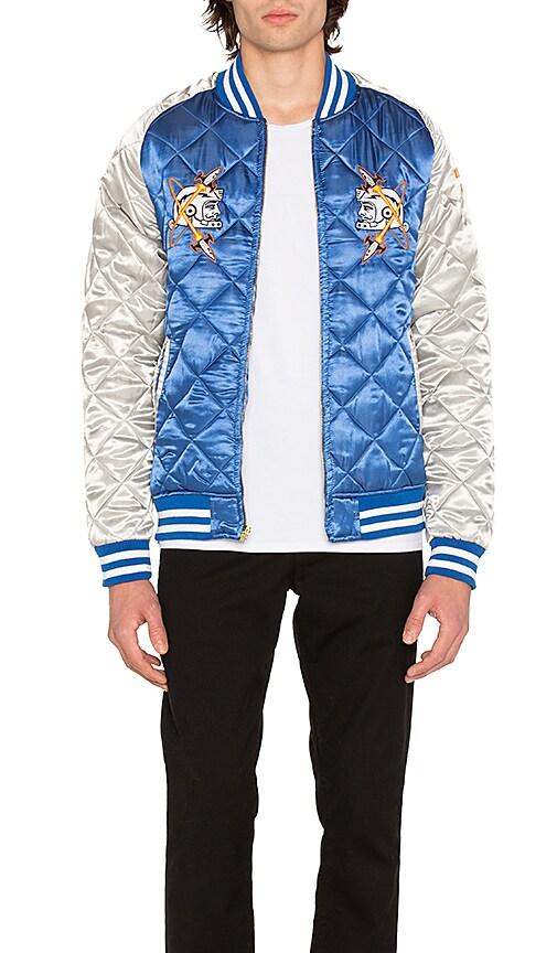 Billionaire Boys Club Vegas Souvenir Jacket in Blue