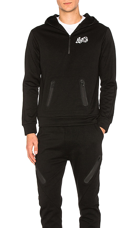 Billionaire Boys Club Tech Hoodie in Black