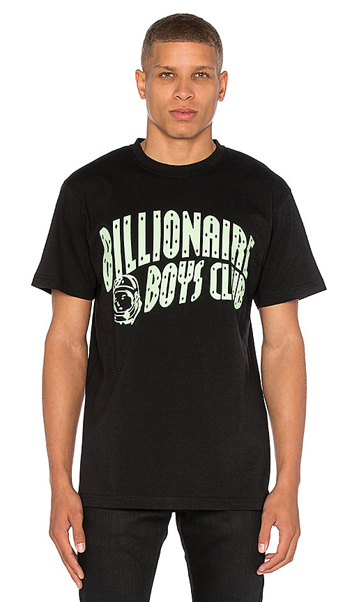 Billionaire Boys Club BB Arch Logo Tee in Black