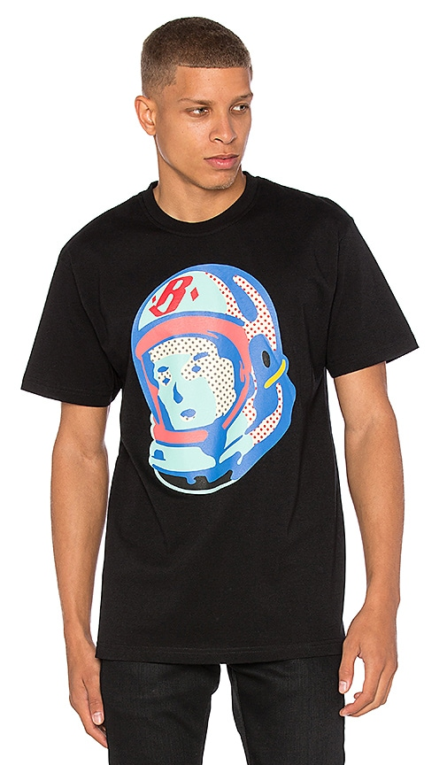 Billionaire Boys Club BB Helmut Logo Tee in Black