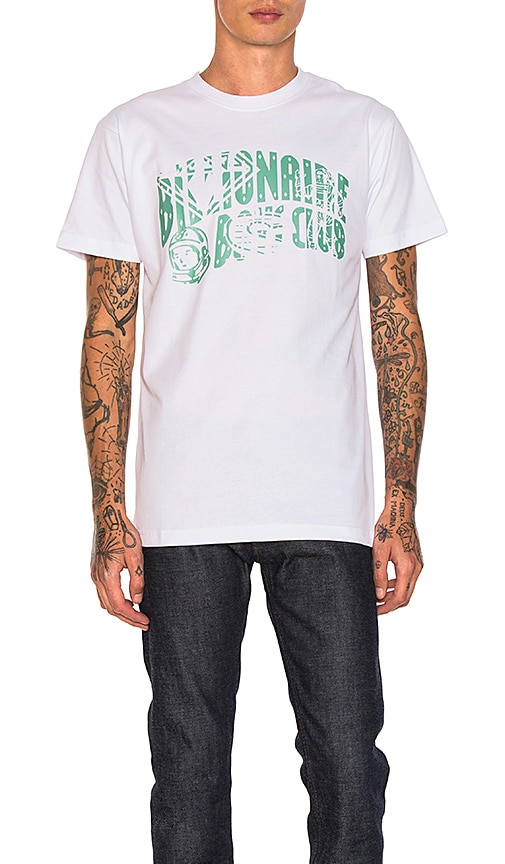 Billionaire Boys Club Arch Logo Tee in White