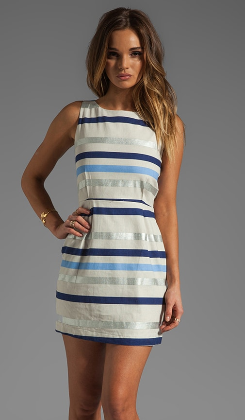 Delaine Stripe Dobby Dress