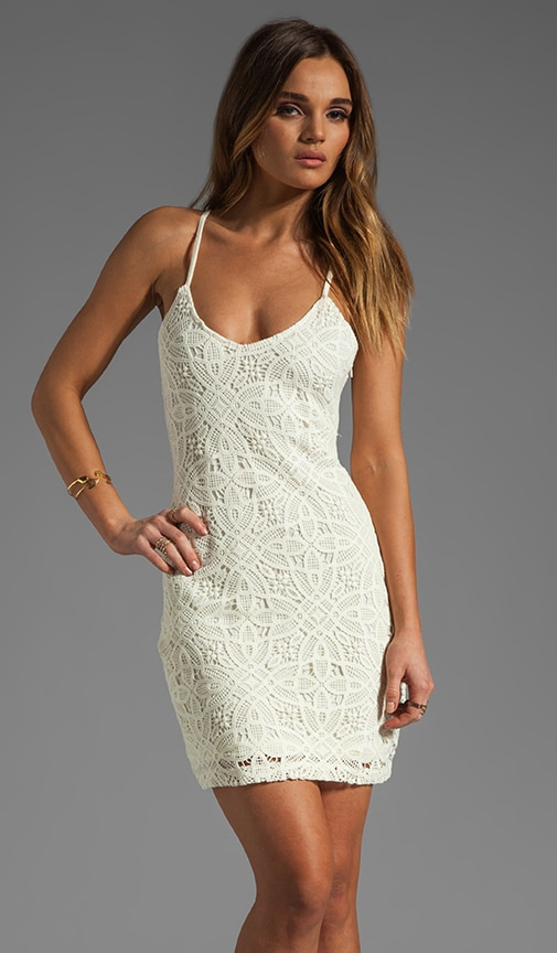 Maiden Crochet Lace Dress