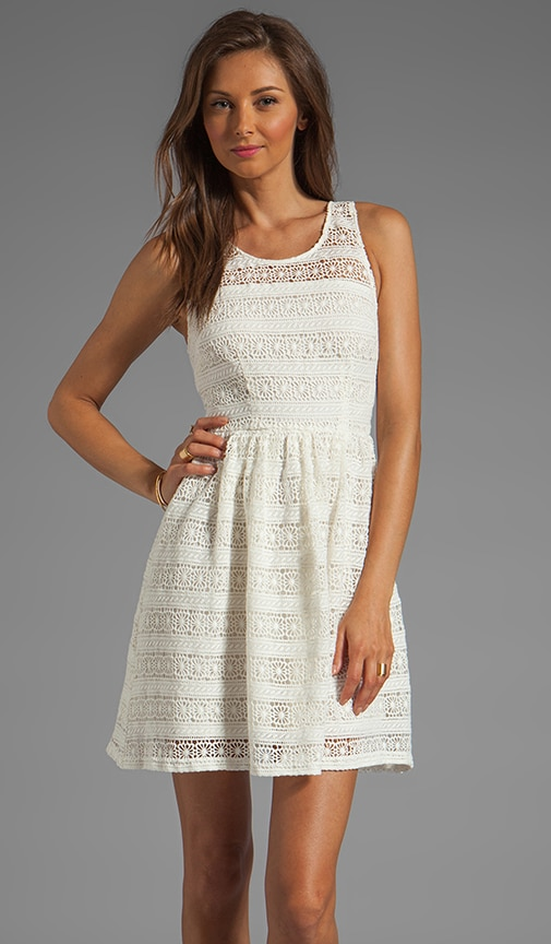 Jacynth Cotton Crochet Dress