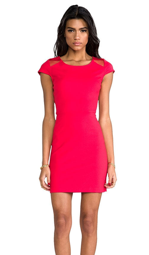 BB Dakota Edgemont Dress in Red
