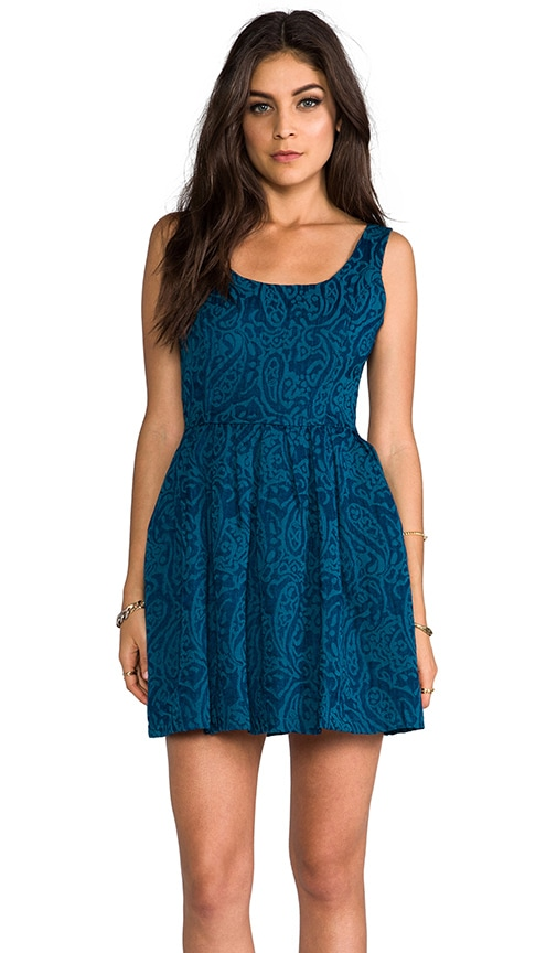 Corrine Jacquard Woven Dress