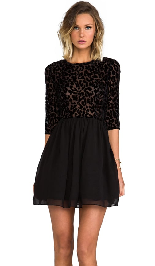 Corella Chiffon Long Sleeve Dress