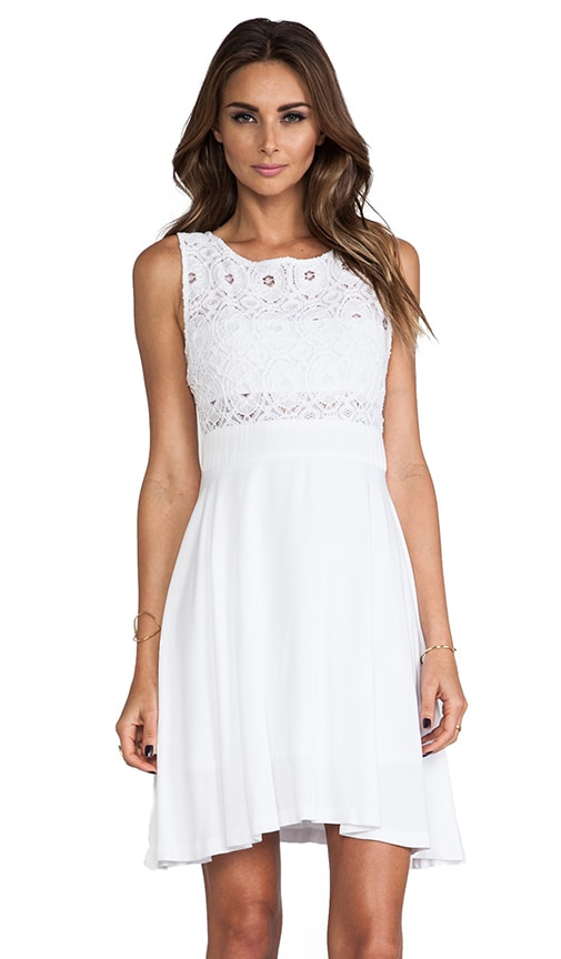 Sela Mini Dress w/ Lace Top