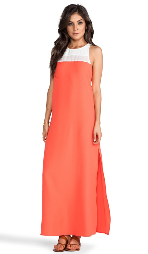 Sola Color Block Maxi Dress