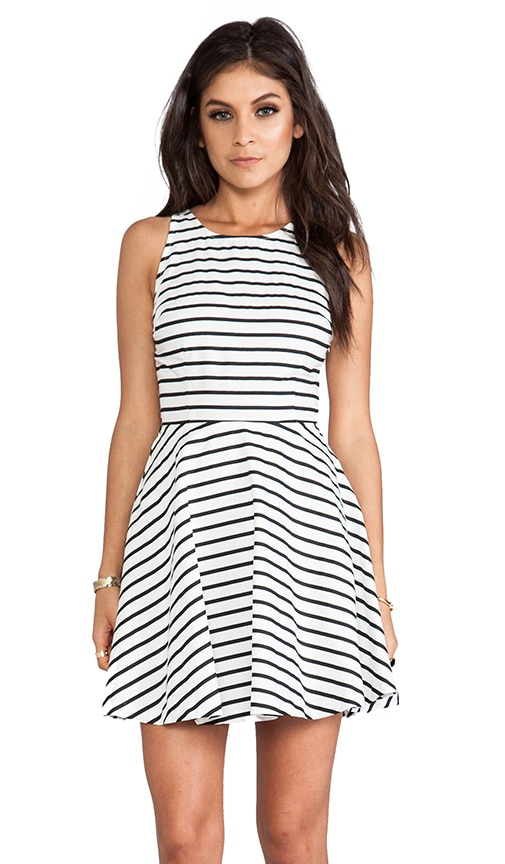 Carling Stripes Sateen Dress
