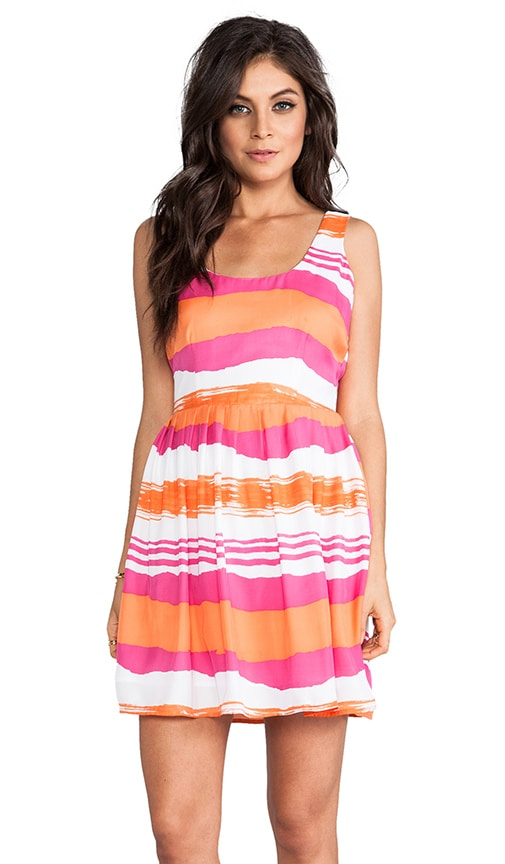Jamband Wave Print Dress
