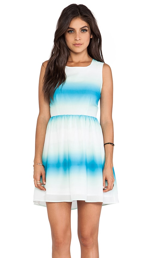Celerina Horizon Printed Tank Dress