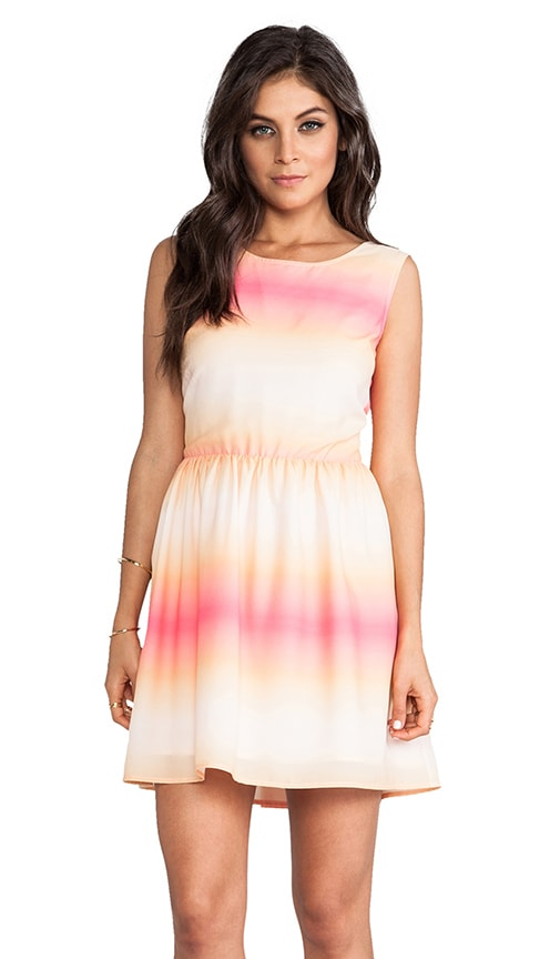 Celerina Horizon Printed Dress