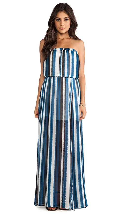 Quant Stripe Maxi Dress
