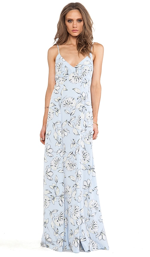Elvya Flora Maxi Dress
