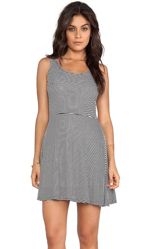 Lais Striped Mini Dress
