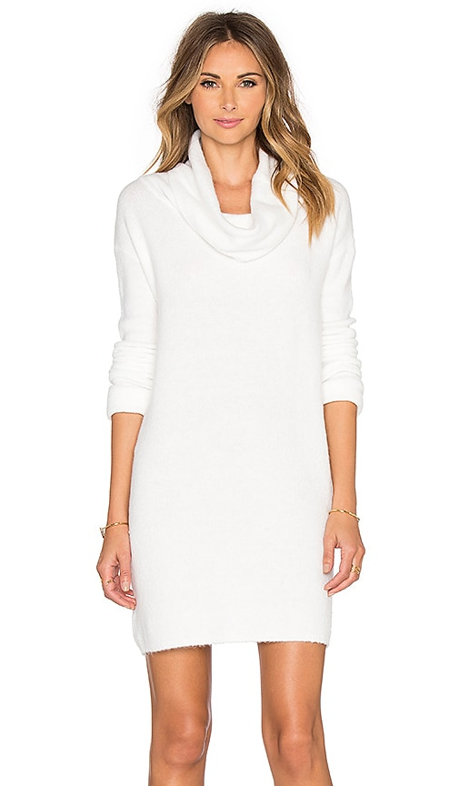 BB Dakota Leighton Sweater Dress in Ivory