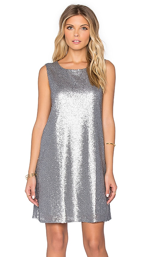 BB Dakota Jack by BB Dakota Harmonica Sequin Dress in Multi