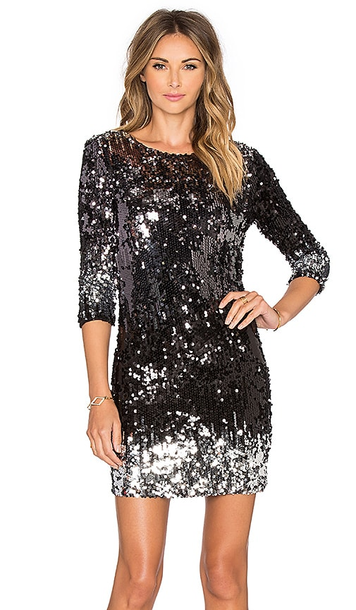 BB Dakota Elise Sequin Dress in Multi