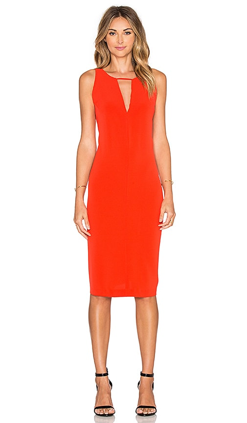 BB Dakota Laine Dress in Blaze