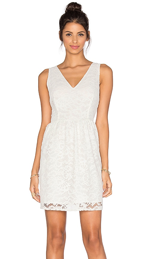 BB Dakota Kerry Lace Dress in White