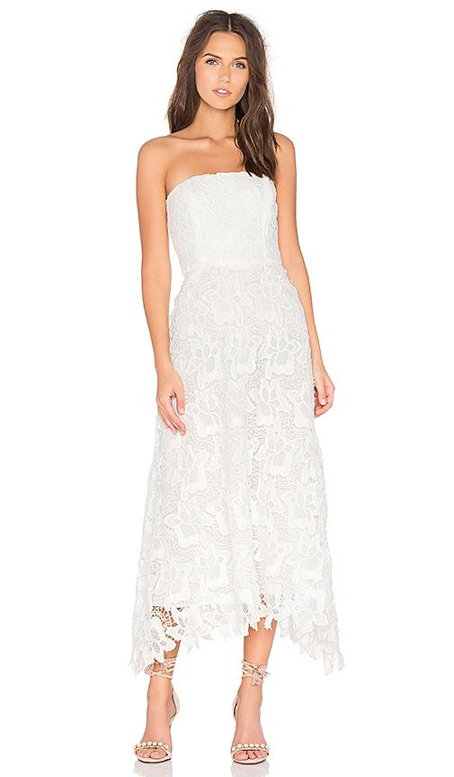 BB Dakota Eleanor Dress in White