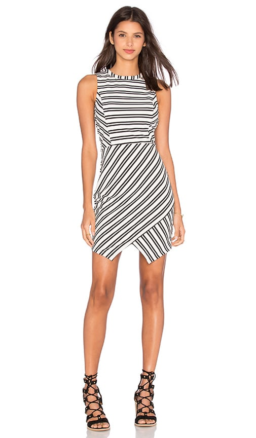BB Dakota Jack By BB Dakota Dominick Dress in Black & White