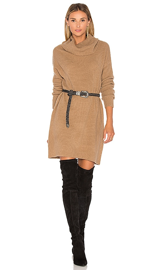BB Dakota Collins Dress in Brown