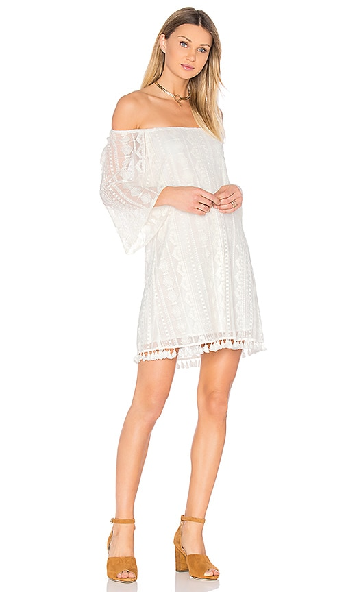 BB Dakota Jack by BB Dakota Denney Dress in White