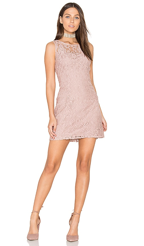 BB Dakota Thessaly Dress in Blush