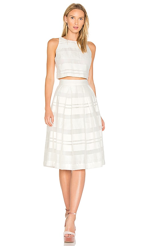 BB Dakota RSVP by BB Dakota Gwen Dress in White