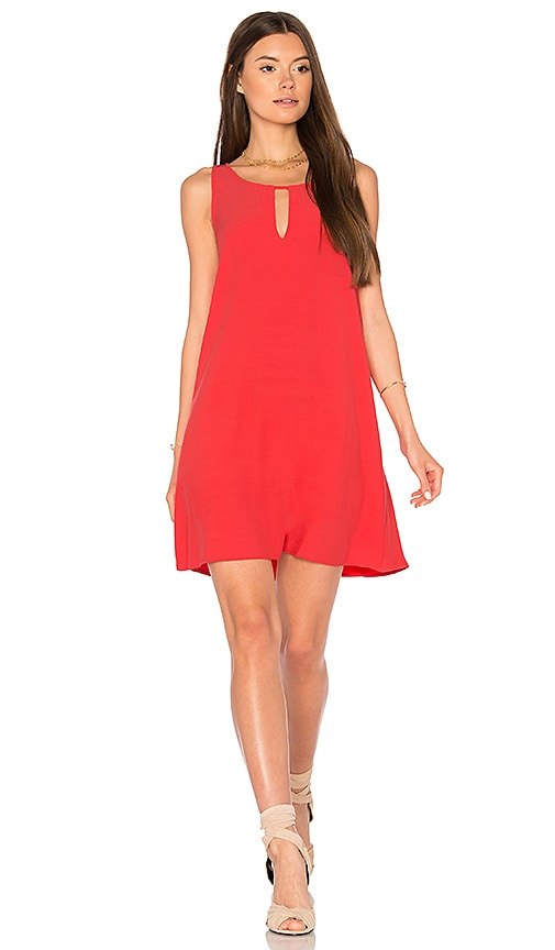 BB Dakota Phoebe Dress in Coral