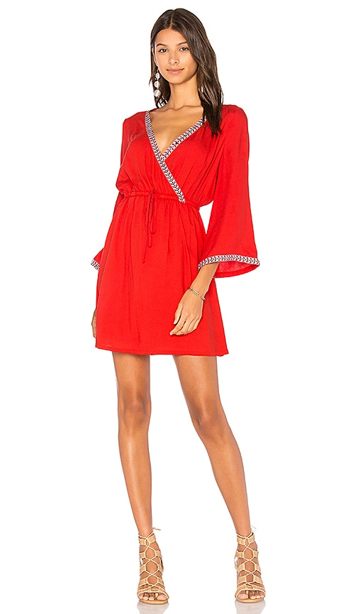 BB Dakota Jack by BB Dakota Klea Dress in Red